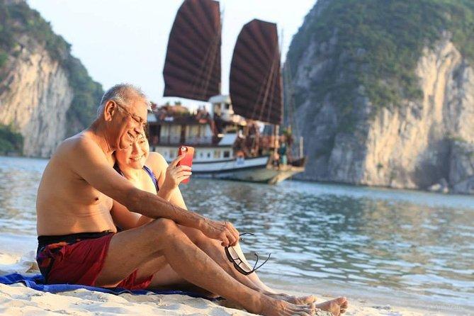 2-tägige Erlebnistour in der Halong-Bucht - Bootsfahrt von Hanoi aus