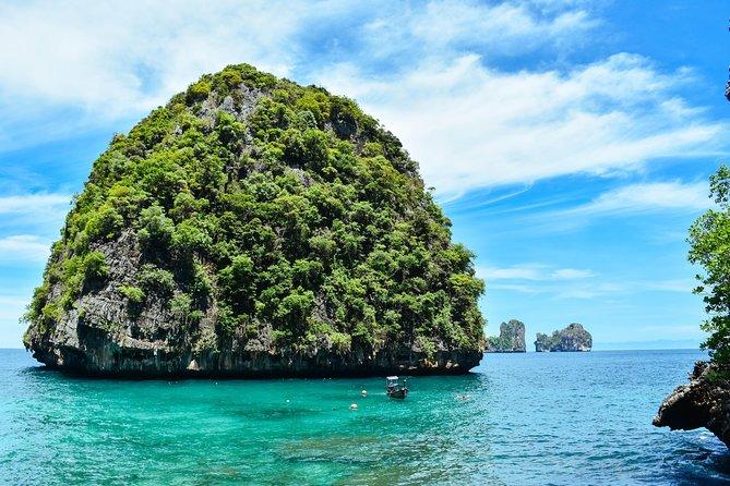 PHI-PHI et l'île de Khai 1 excursion d'une journée au départ de Phuket, déjeuner inclus