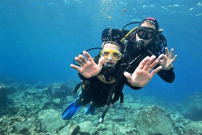 Découvrez la plongée sous-marine pour débutants à Playa Blanca