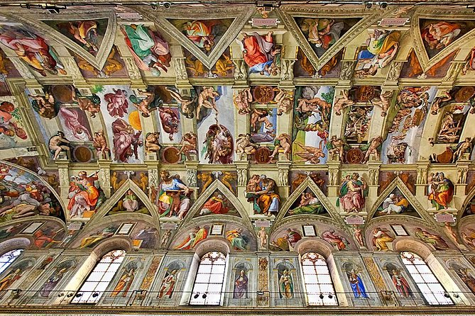 Skip-the-Line Vatican Museums, Sistine Chapel & St. Peter's Basilica Group Tour