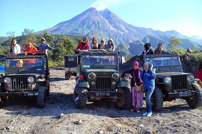 4 Day Yogyakarta Merapi Borobudur - PRIVATE Tour with GUIDE