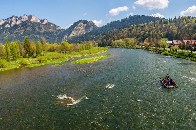 Private Dunajec River rafting tour from Krakow