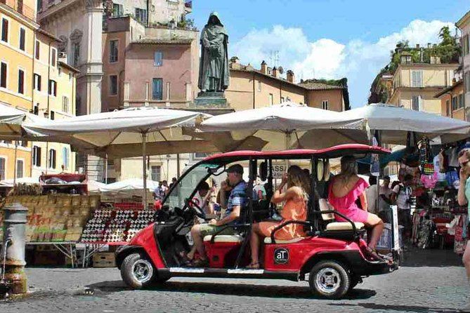 The Ultimate Roman Food tour by Golf Cart