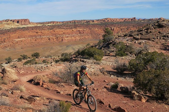 One of the best and most fun riding areas in Moab.
