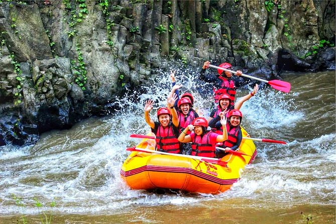 Ubud White Water Rafting With Private Return Transport