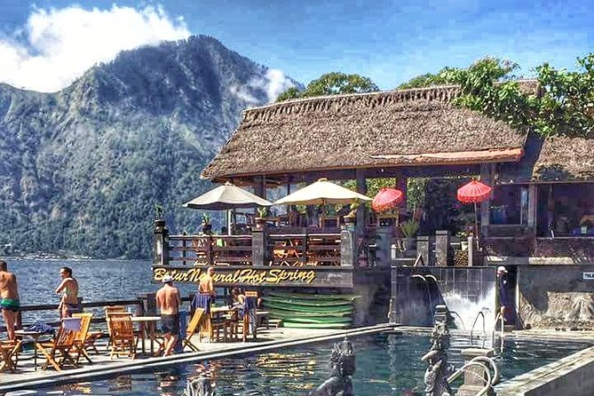 Private Tours : Natural Hot Spring, Batur Volcano and Waterfall