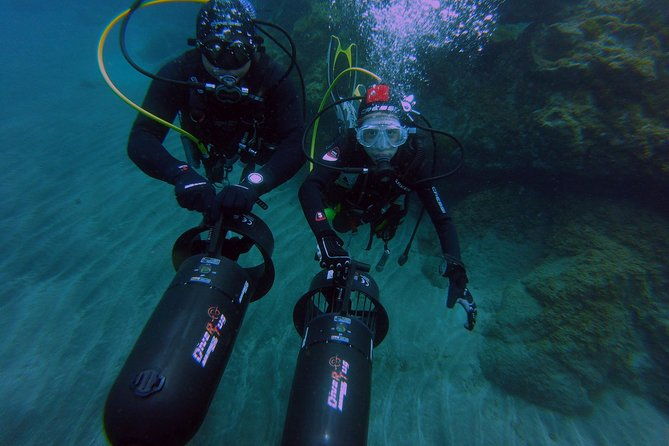 Two Fantastic dives with Underwater Scooter