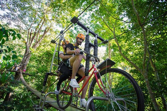 Flying Squirrels zipline adventures