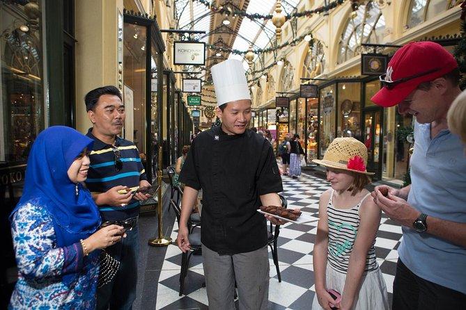 Melbourne Chocolate Indulgence Laneways and Arcades Walking Tour