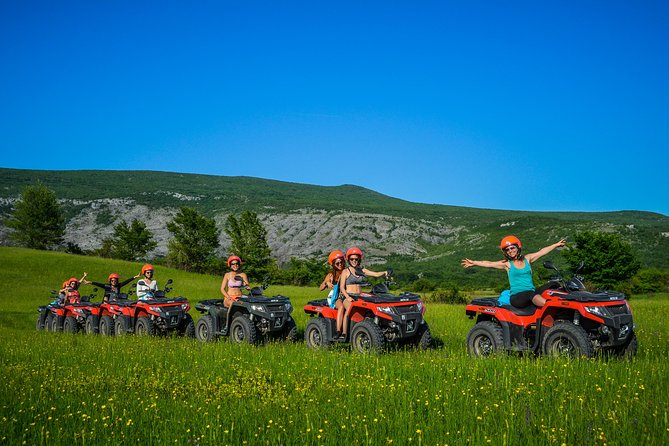 ATV Mountain & River kayak full day excursion with picnic - from Split