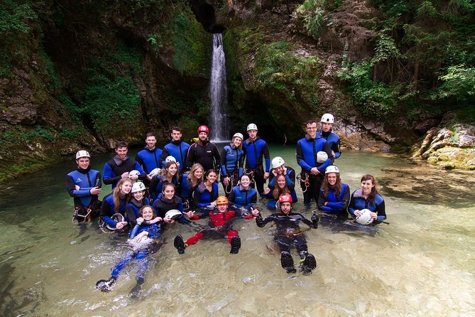 Canyoning And Rafting Adventure in Lake Bled Slovenia