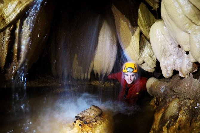Caving in Sura Mare Cave