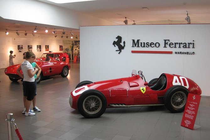 2-Nights Ferrari World and with Private Bologna Walking Tour from Florence