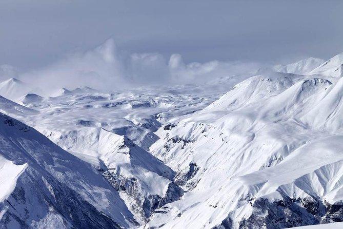 Full-Day Snowshoeing Tour to Kazbegi from Tbilisi