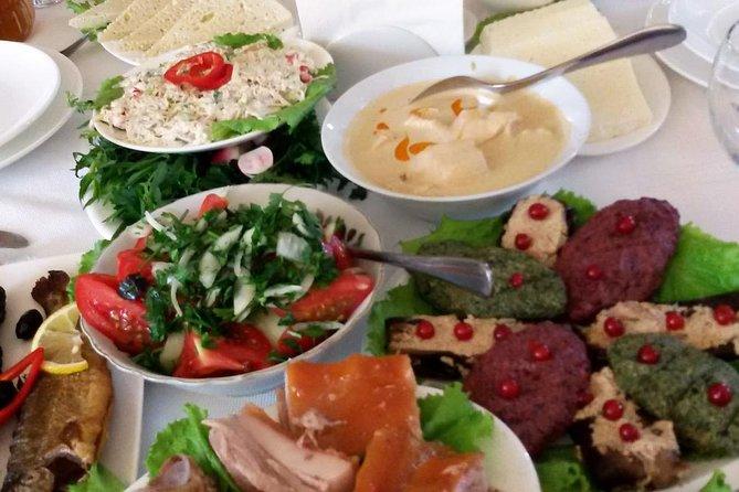 Clase de cocina georgiana en tour de un día