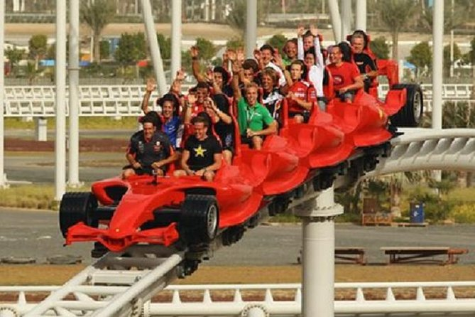 Full-Day Trip to Ferrari World and Yas Island from Dubai