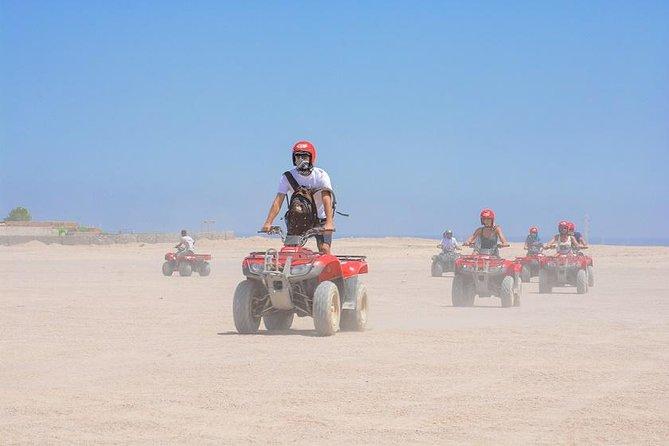 Tour privado: Safari en quad de seis horas por el Sahara con cena, espectáculo y observación de estrellas