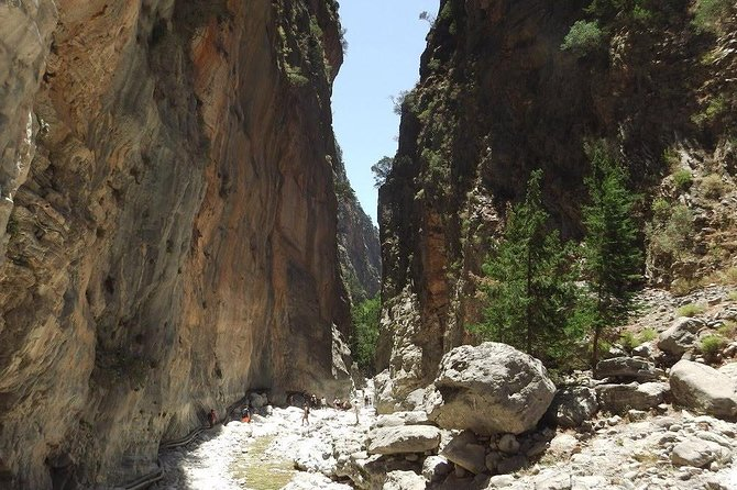 Samaria, the longest Gorge in Europe! from Chania