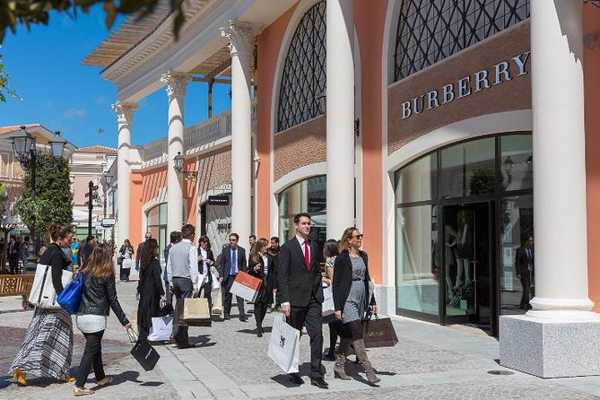 Small-Group Tour: Outlet Shopping Day Tour to the Castel Romano Fashion District