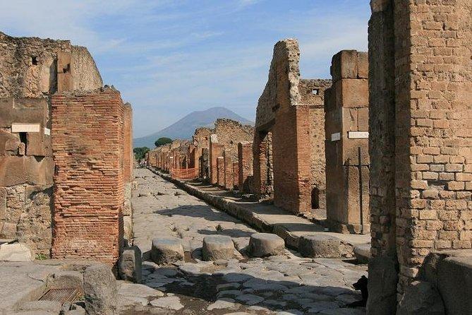 Excursão para grupos pequenos: Pompeia e Nápoles saindo de Roma com almoço em uma fazenda biológica