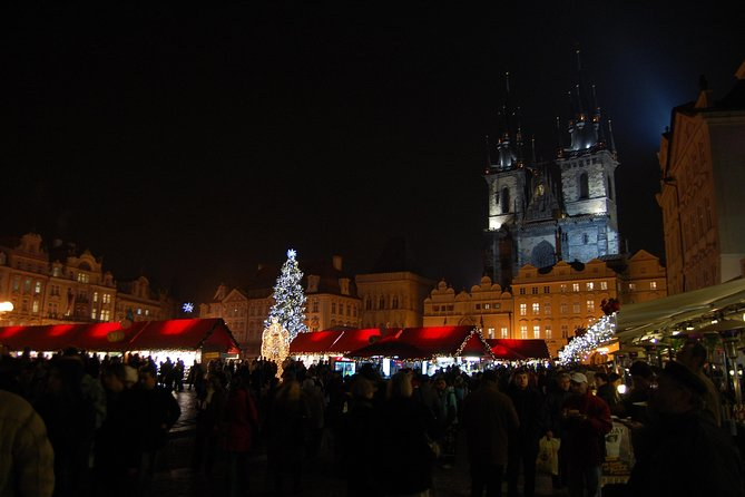 Prague Christmas Walking Tour Including Czech Specialties