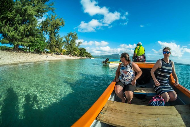 Full Day Pele Island Beach and Snorkeling Guided Tour