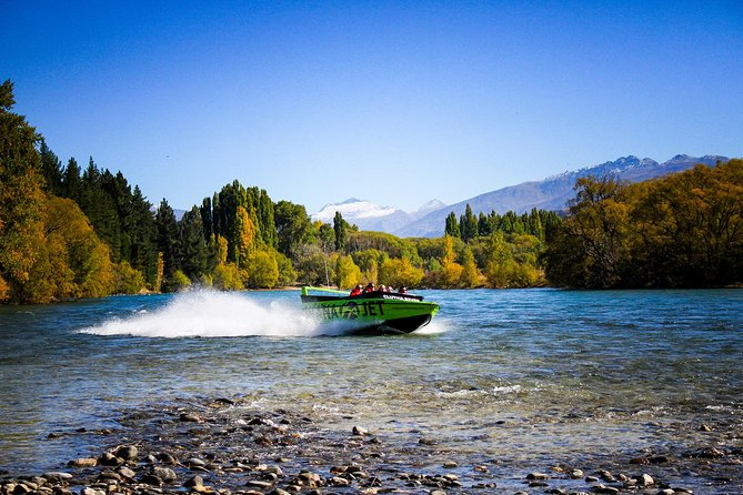 Lake Wanaka and Clutha River Jet Boat