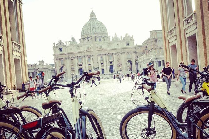 Rome in 1 Day - E-Bike Tour with lunch