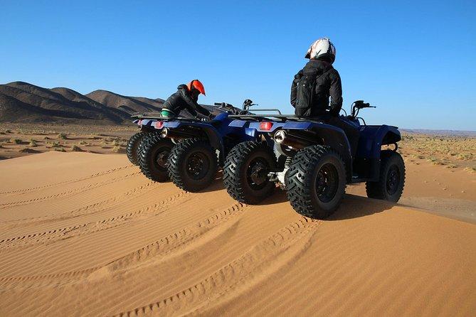 One hour Sahara ATV Quad Adventures Safari from Merzouga