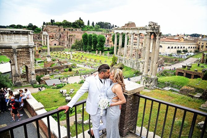 Shooting in the Eternal City with a professional photographer