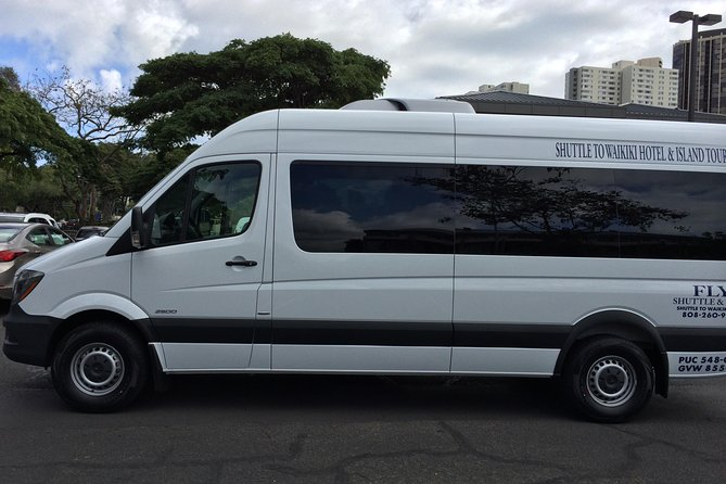 Private Airport Shuttle to Waikiki