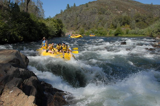 Half Day Whitewater Rafting on the South Fork American River
