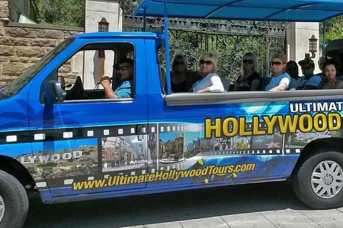 Hollywood & Beverly Hills Celebrity Homes & Landmark Locations in Open Air Buses