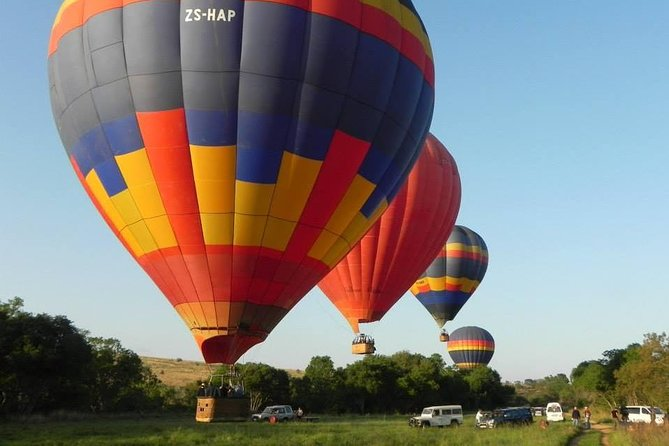 Hot Air Balloon Flight In The Cape Winelands