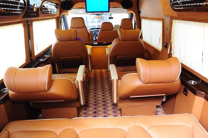 Morning limousine D-car 8-seat transfer to Hanoi depart from Sapa Town center