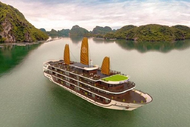 3 Days 2 Nights La Regina Legend Cruise explore amazing Lan Ha Bay from Hanoi