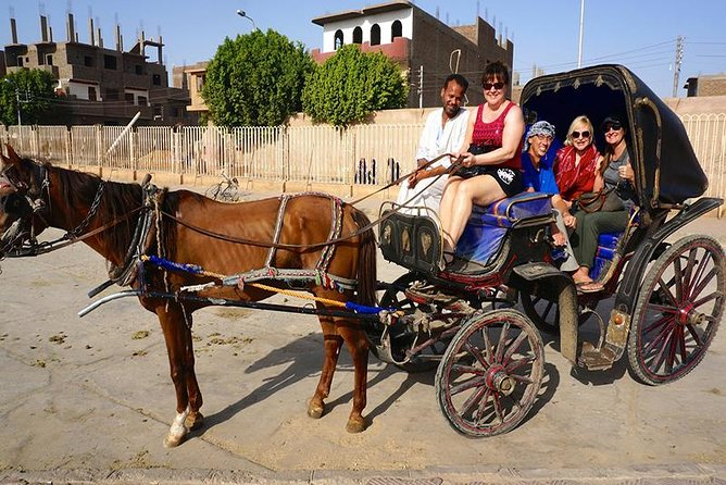 City tour in Luxor by horse carriage