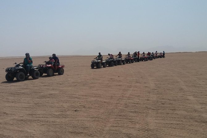 Safari Tour by quad bike at the west bank