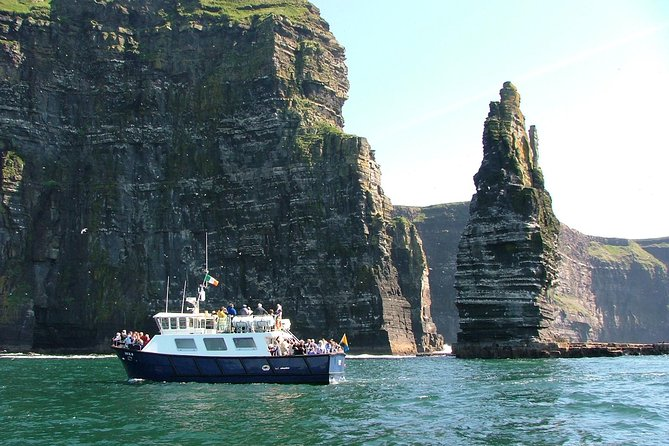 From Galway: Aran Islands & Cliffs of Moher including Cliffs of Moher cruise.