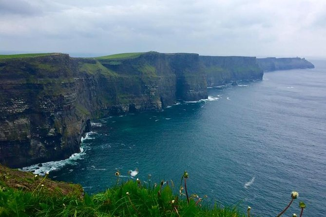 From Galway: Guided tour of Cliffs of Moher and The Burren.