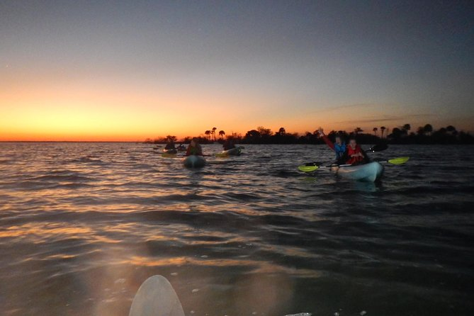 Sunset Kayaking w/ Florida Bioluminescence Combo Tour | Haulover canal