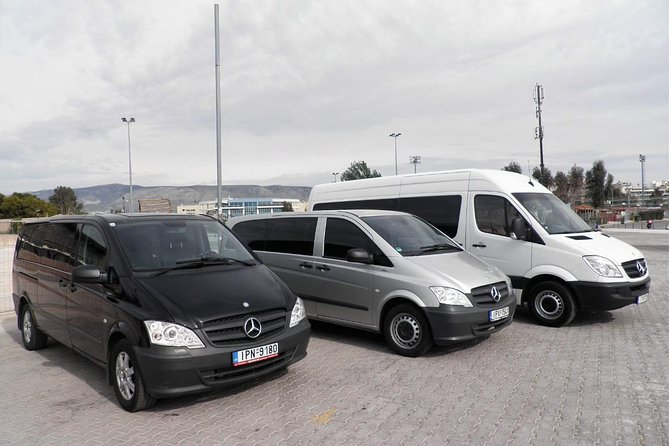 Transfer from Mykonos Airport to Vryssi area up to 6 customers
