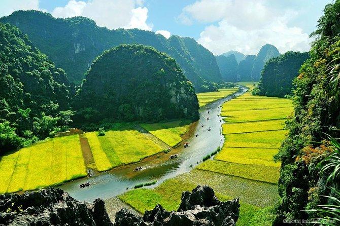 Hoa Lu - Caverna Mua - Tam Coc - Bich Dong - Viagem diurna com passeio de bicicleta e de barco saindo de Hanói