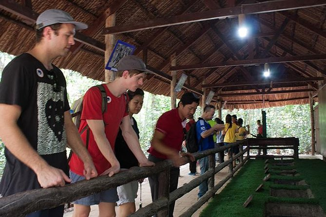 Cu Chi Tunnels Half Day Experience with DeluxeGroupTours