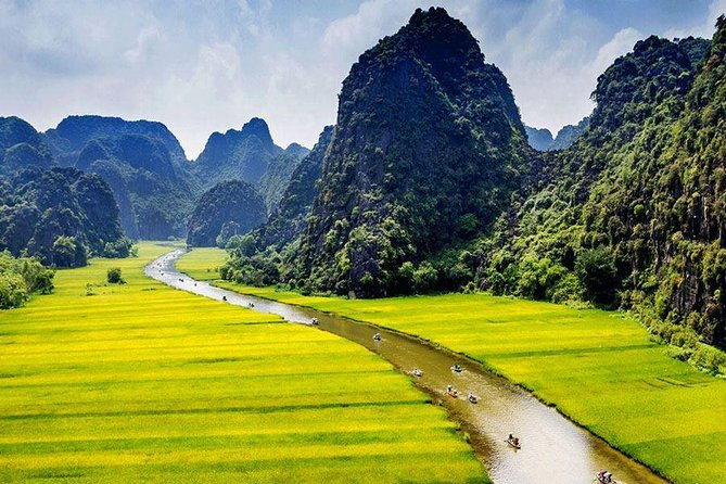 Ninh Binh-Hoa Lu-Tam Coc - Mua cave - Dragon Mountain Hiking- Cycling 1 Day Tour