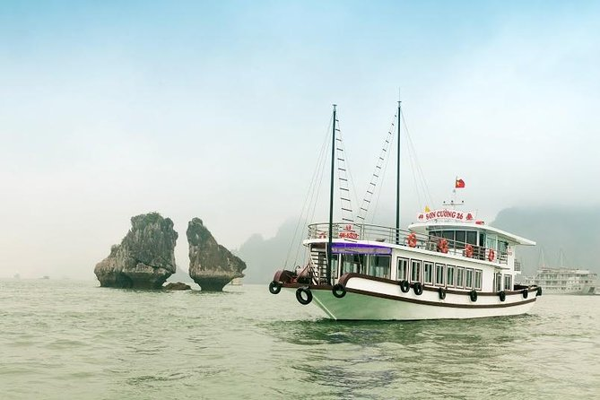 Halong Bay Day Cruise from Hanoi with Viet Dragon Cruise
