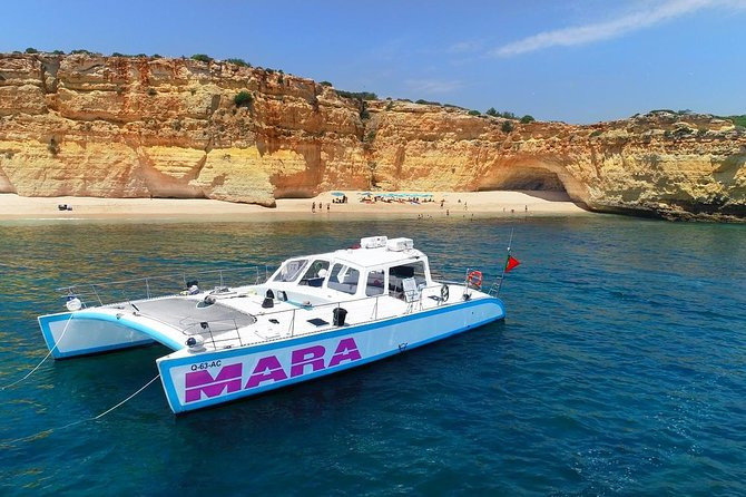 Catamaran BBQ on the Beach: Cruise to Benagil Caves