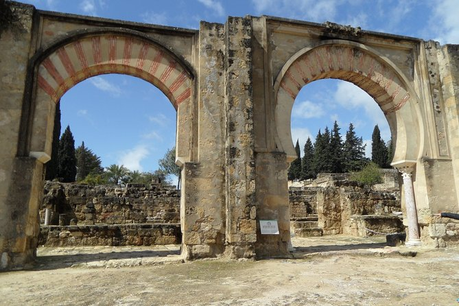 Private Half Day Tour of Medina Azahara from Cordoba Hotel pick up & drop off