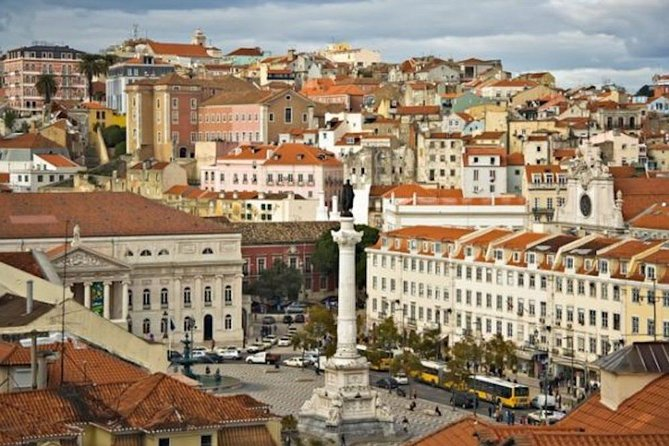 Private full day city tour of Lisbon with driver and separate guide from PORTO