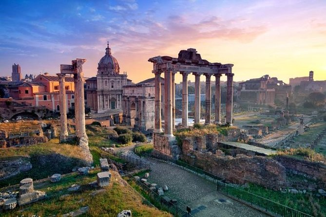 Private City Tour in Rome with Hotel Pick-Up in Luxury Vehicle